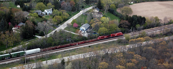 Canadian Pacific Railroad Waukesha Co April 2012