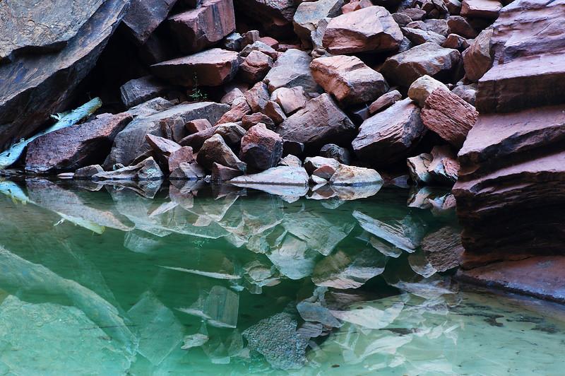 Upper Emerald Pool Zion National Park, Utah (green) - Steve Sieren