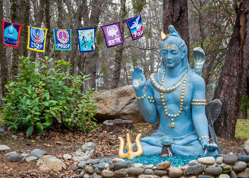 Shiva Statue in Kailash