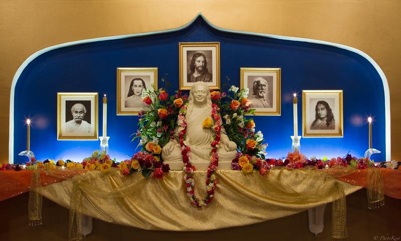 Master's Birthday Altar