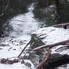 A very frozen Setrock Creek Falls