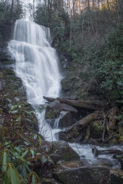 Eastatoe Falls frontal view