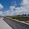 Observation deck atop Mt. Mitchell