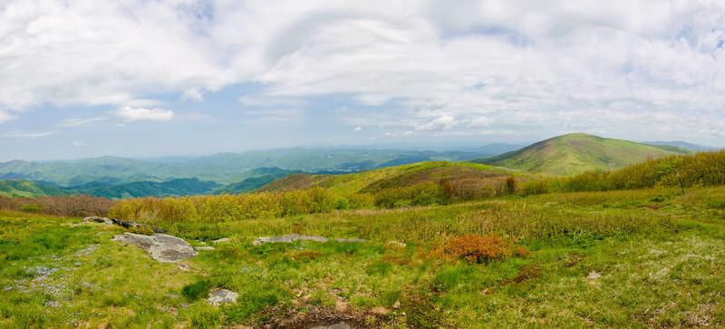 Hump Mountain panorama