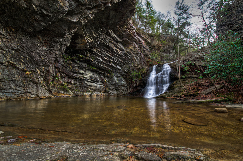 Lower Cascade Falls ~ Hanging Rock State Park