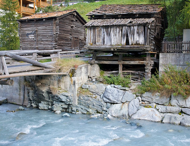 Old Structures in Zermatt