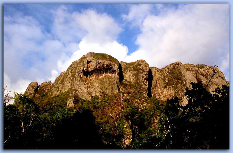 Suicide Cliff and Spirit Face..........................Saipan
