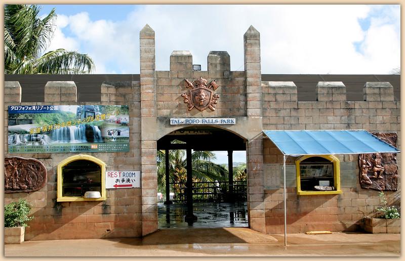 Talofofo Falls Park Entrance......Guam, USA