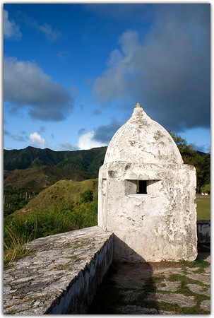 Fort Soledad............Umatac, Guam<br /> The old lookout catching the late afternoon sun.