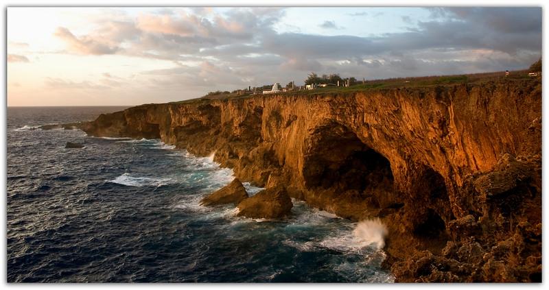 Banzai Cliff Sunrise..........................Saipan, Northern Marianas