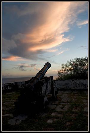 Ft. Soledad Canon Sunset
