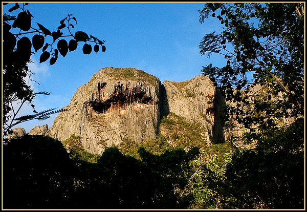 Suicide Cliff and Spirit Face.....................Saipan