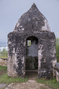 Ruins at Fort Soledad, Guam