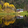 Hauststemning ved Sævellvatnet<br /> <br /> Beautiful autumn day
