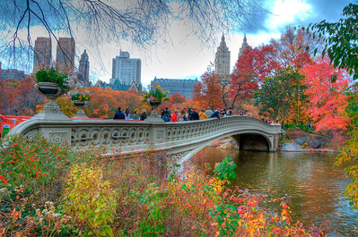 HDR photo. Central Park, New York City