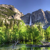 HDR of Yosemite Falls