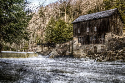 The Old Mill. McConnell's Mill State Park.                        3-8-2011