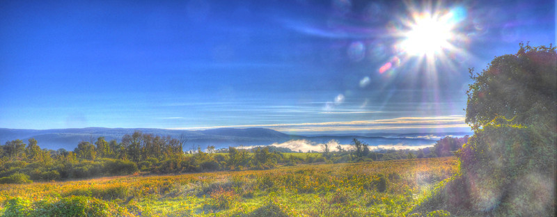 Blazing Sunrise on Winchell Mountain