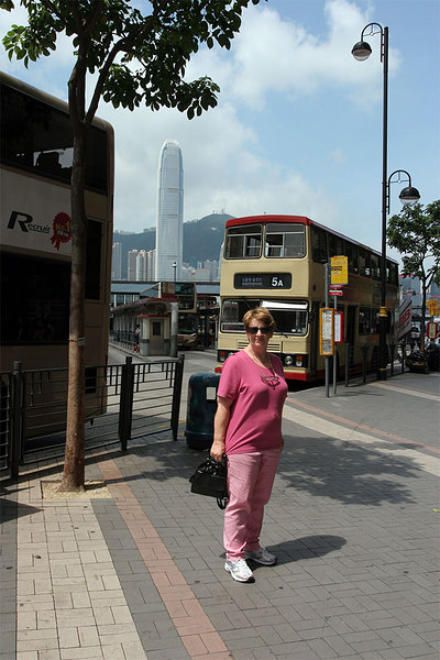 Gaye about to attack Kowloon's Nathan Road shops.
