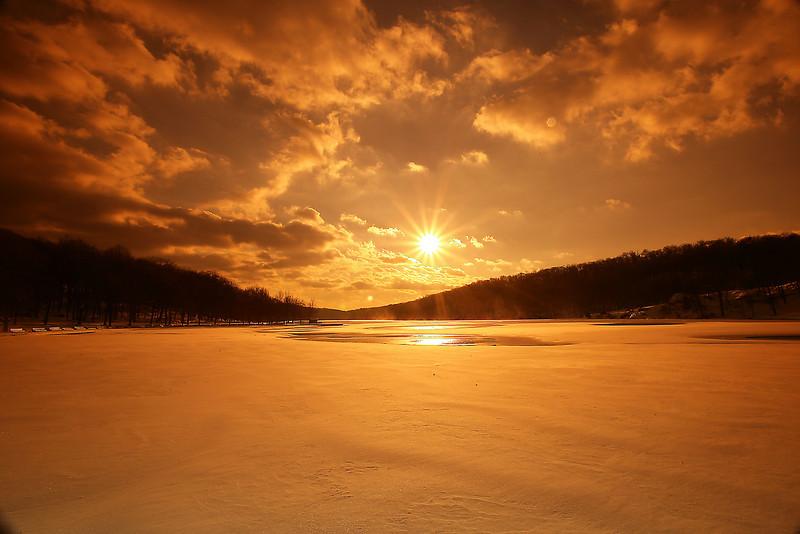 Sebago Sunset