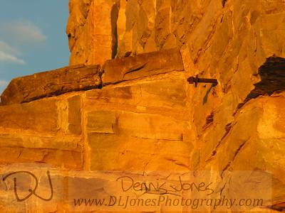 Closeup of some of the stone work at Ha Ha Tonka.