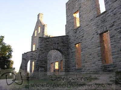 Castle ruins at Ha Ha Tonka.