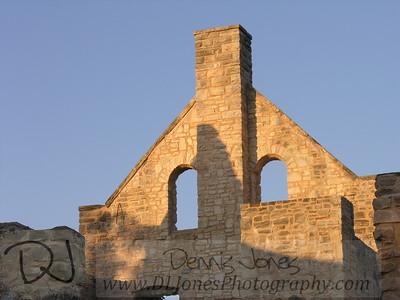 Castle ruins at Ha Ha Tonka