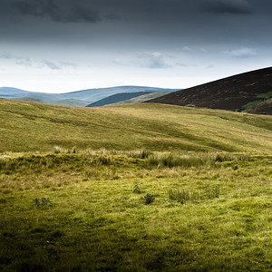 Chew Green (Ad Fines), Roman earthworks, Cheviots, Northumberland UK