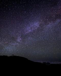 Jana under the Milky Way