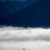 82  G Tip of Hood Above Foggy Gorge V
