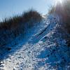 163  G Snowy Trail and Hamilton Sun V