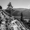 91  G Icy Trail and Hood Sharp BW