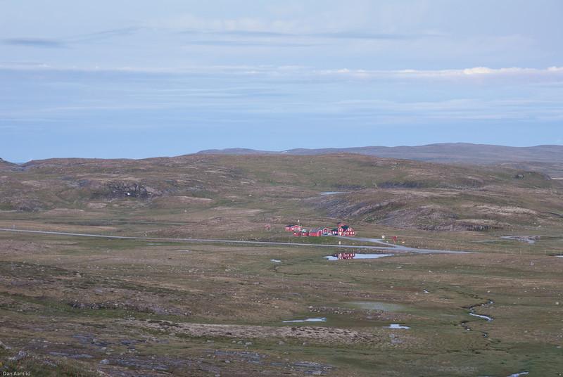 Traastølen, late eveing, Hardangervidda 2009
