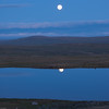 Full Moon above Hardangervidda 2009 (Dyranut)