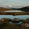 Late evening at the Hardangervidda plateau, August 2009 (Dyranutområdet)