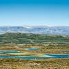 Hallingskarvet sett fra Krekkjanuten (øst for Vesle-krækkja)