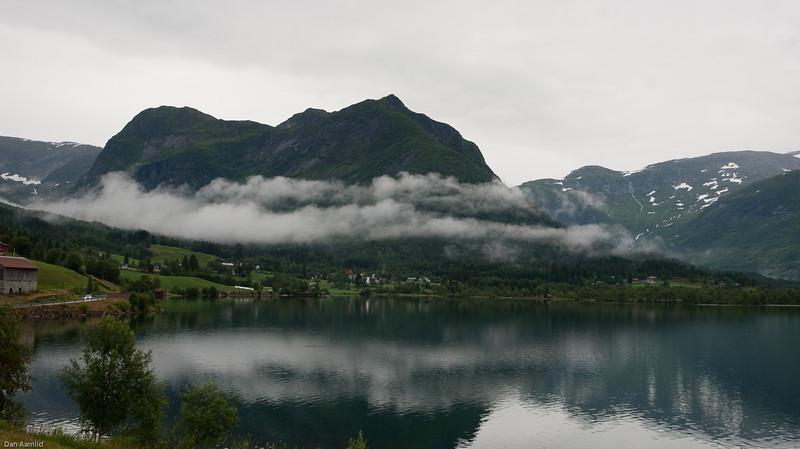 Haukedalen with Mt. Kabusen