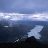 Haukedalsvatnet sett fra Kabusen, høst 2003