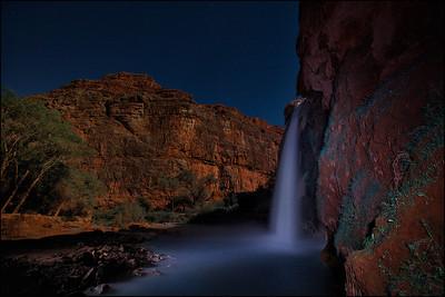 Havasupai Falls. Land of Supai Nation in the United States, Arizona.