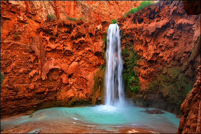 Land of Supai Nation in the United States, Arizona.