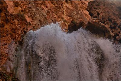 Land of Supai Nation in the United States, Arizona.
