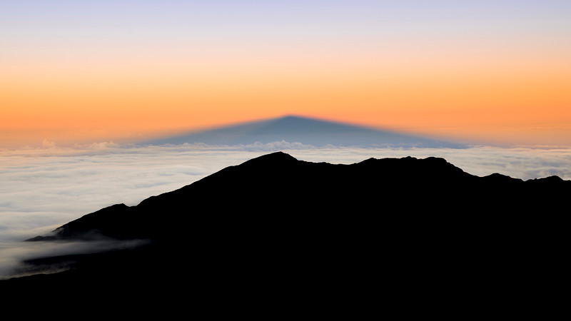 The Shadow of Haleakala