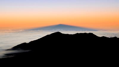The Shadow of Haleakala