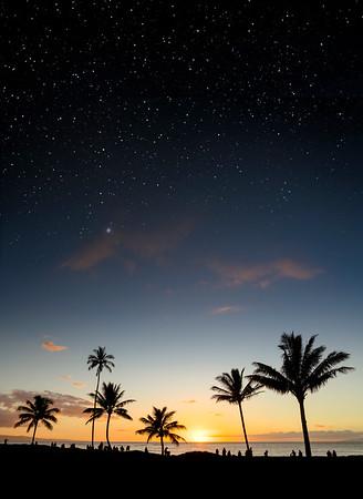 Sunset Stars
