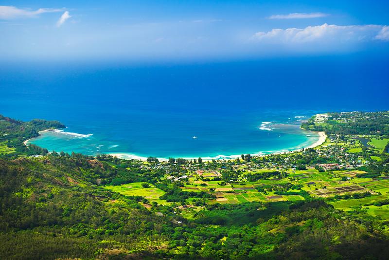 """Hanalei Bay from the Sky"""