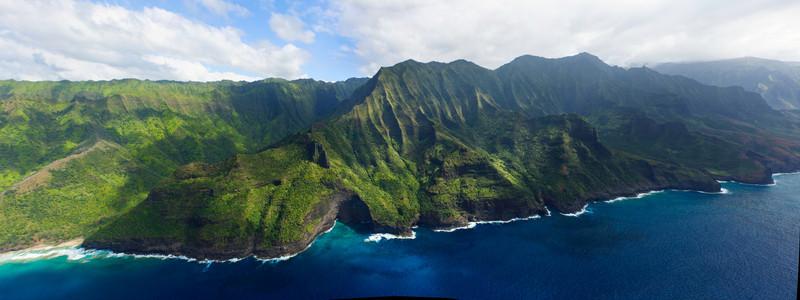 Napali Coast Panorama