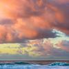 """Napali Coast Sunset in Kauai, Ke'e Beach Hawaii"
