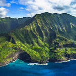 """Napali Coast Panorama"", Kauai, Hawaii"
