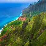"""Above the Napali Coast""  Kauai, Hawaii"