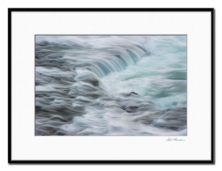 Ocean-Flows-Poipu-Shipwreck-beach-Kauai-Hawaii_DSC9890-Framed